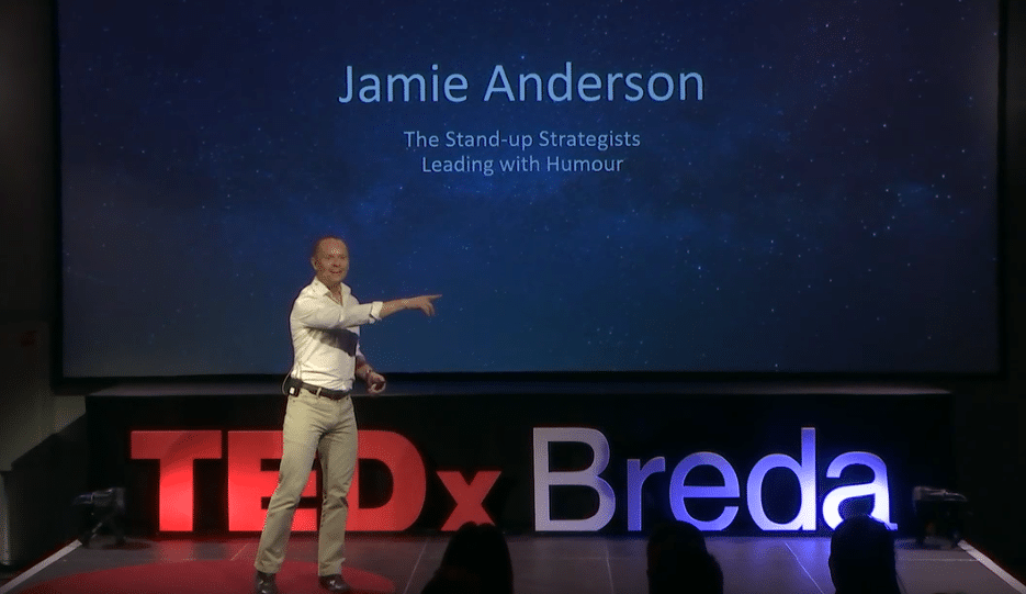 The Stand-Up Strategist: Leading with Humour | From TEDxBreda